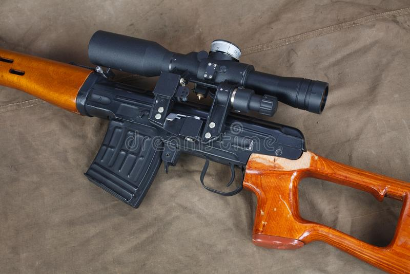 Снайперская винтовка SVD стоковые изображения