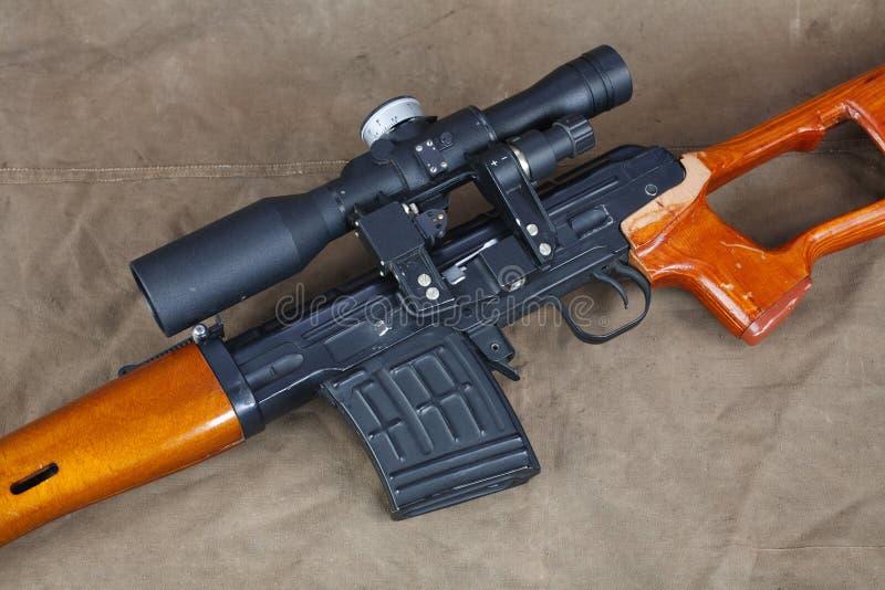Снайперская винтовка SVD стоковое изображение