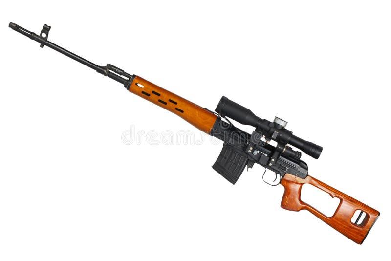 Снайперская винтовка SVD стоковое фото