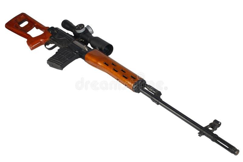 Снайперская винтовка SVD стоковое изображение rf