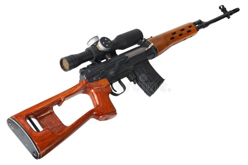 Снайперская винтовка SVD стоковые изображения rf