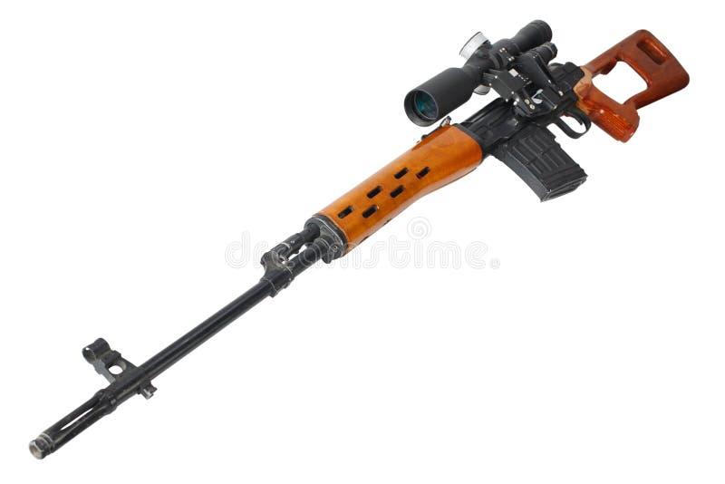 Снайперская винтовка SVD стоковое фото rf