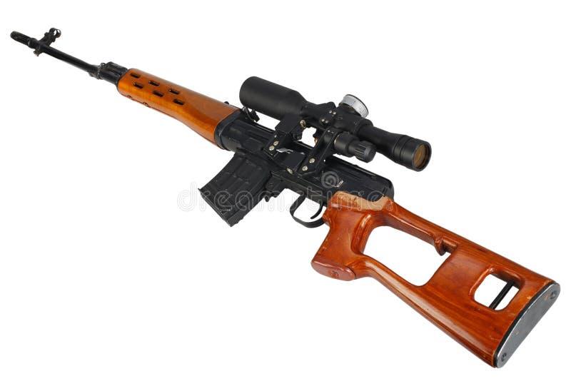 Снайперская винтовка SVD стоковые фотографии rf
