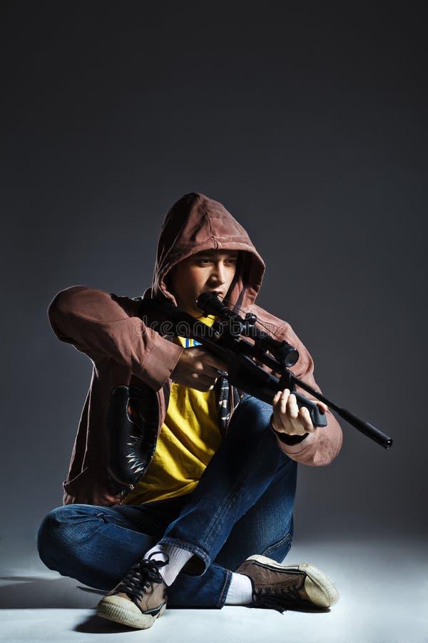 снайпер винтовки стоковые изображения rf