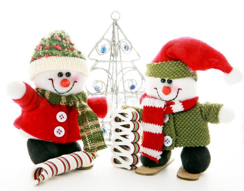 Снеговики стоковые изображения
