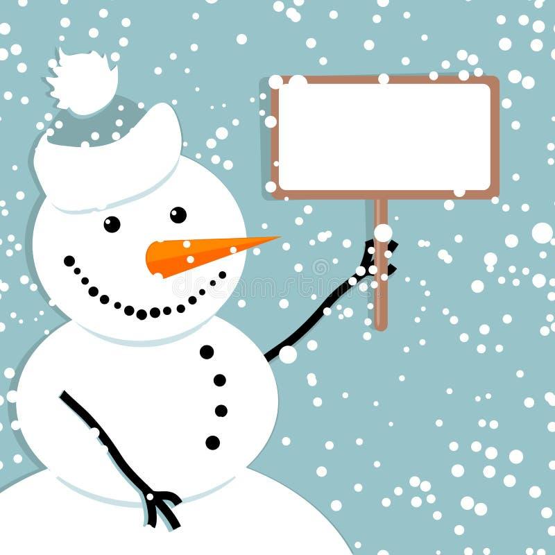 снеговик рождества карточки счастливый бесплатная иллюстрация