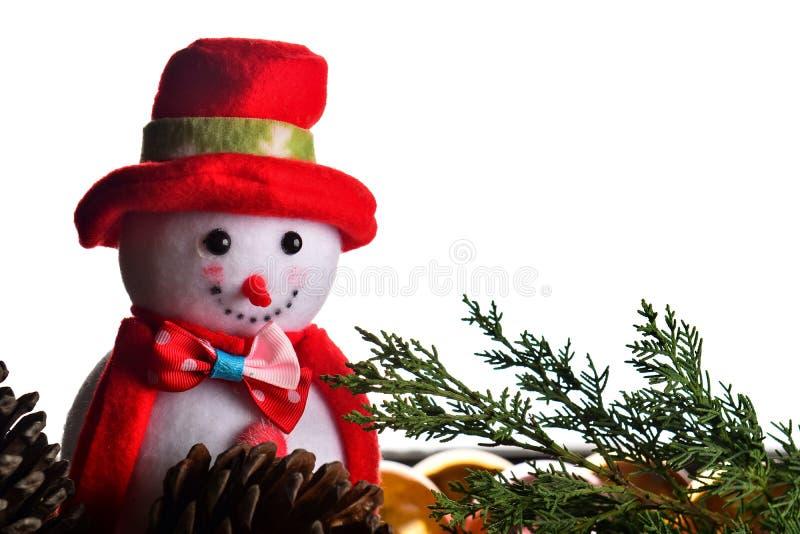 снеговик украшения 2 cristmas стоковая фотография rf