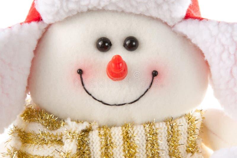 снеговик шарфа шлема стоковое изображение rf