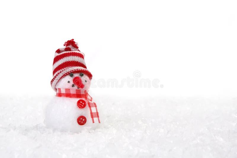 снеговик copyspace рождества стоковое фото rf