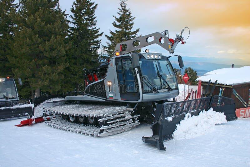 снегоочиститель стоковое изображение rf