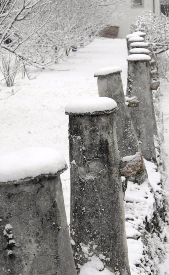 Снег вышивки стоковое фото
