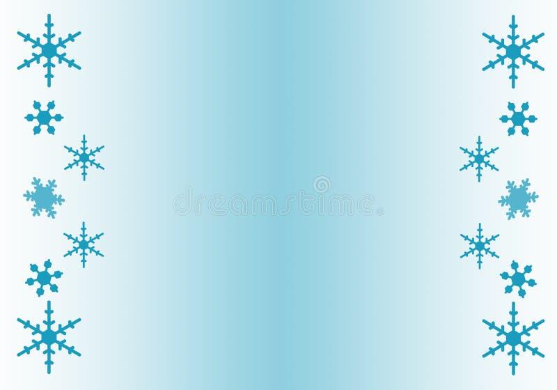 снежинка граници иллюстрация штока