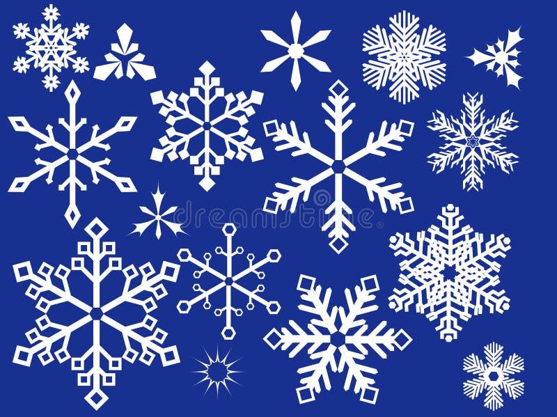 Download снежинка конструкции иллюстрация вектора. иллюстрации насчитывающей снежок - 6861473