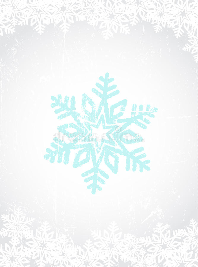 снежинка предпосылки стоковое фото rf