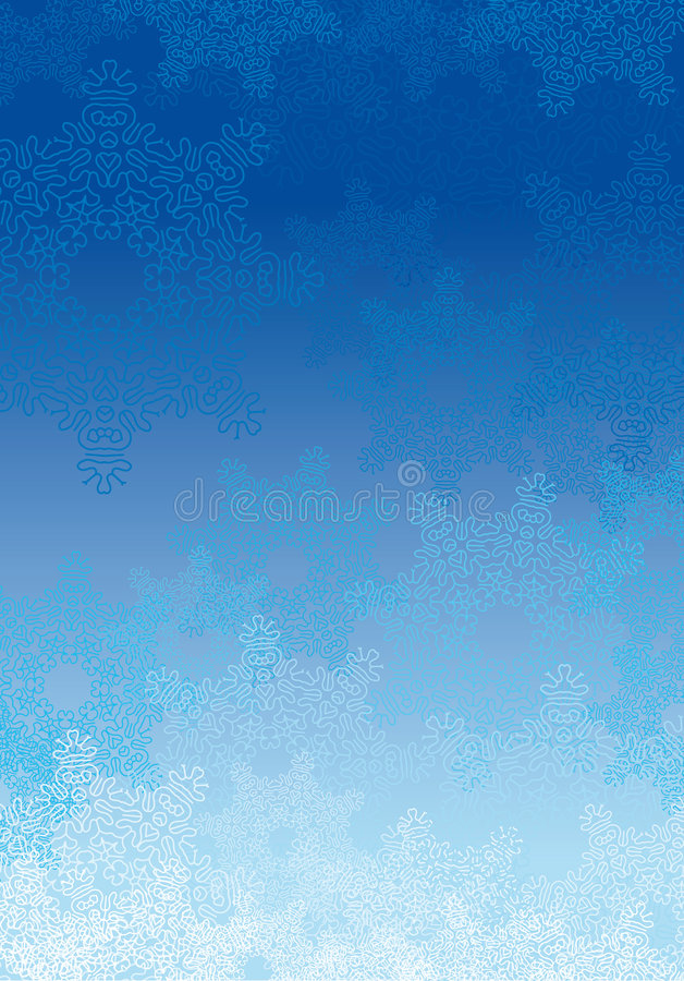 снежинка предпосылки иллюстрация вектора
