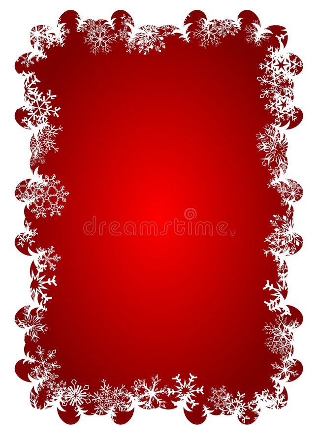 снежинка рамки иллюстрация вектора