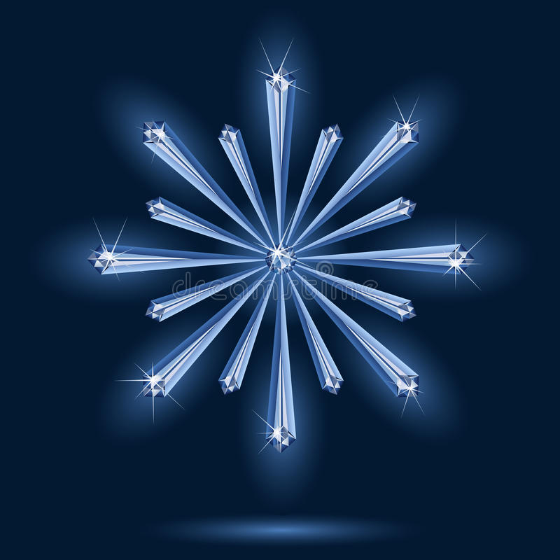 снежинка бесплатная иллюстрация