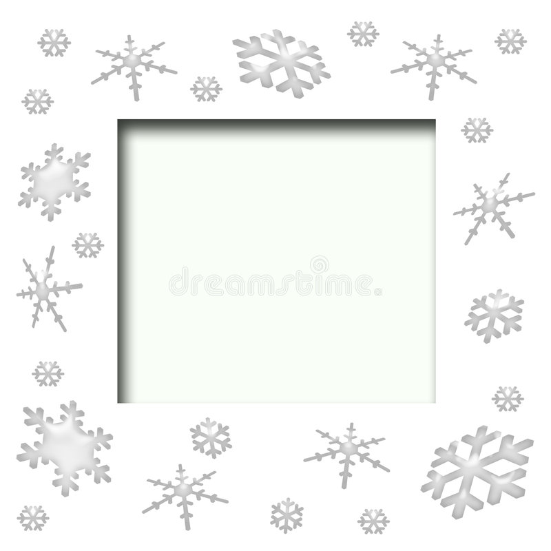 Download снежинка scrapbook рамки иллюстрация штока. иллюстрации насчитывающей иллюстрация - 6862225