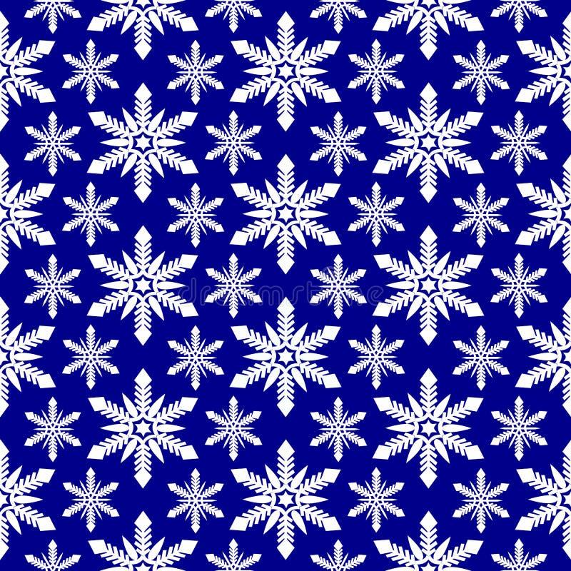 Download снежинки картины безшовные иллюстрация вектора. иллюстрации насчитывающей льдед - 40579366
