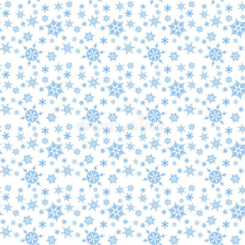 Снежинки картины предпосылки вектора стоковое фото rf