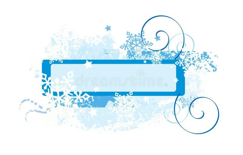 снежинки конструкции иллюстрация вектора