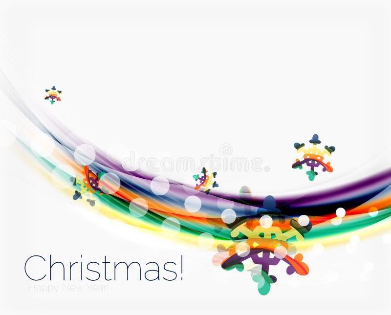 Download Снежинки на волне выравниваются, предпосылка рождества и Нового Года Иллюстрация вектора - иллюстрации насчитывающей экземпляр, конспектов: 81805078