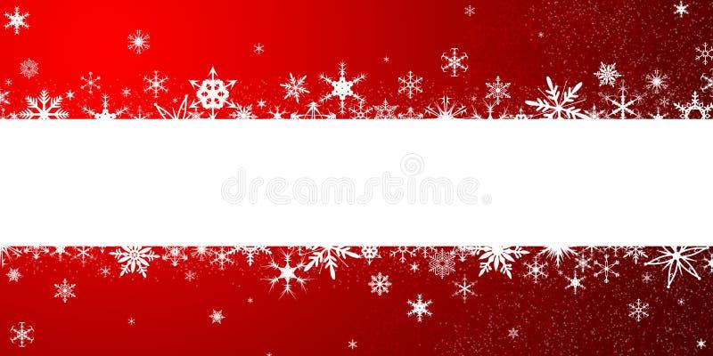 снежинки предпосылки изолированные рождеством белые бесплатная иллюстрация