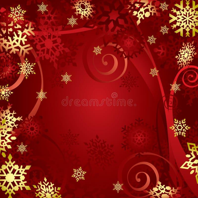снежинки рождества иллюстрация штока