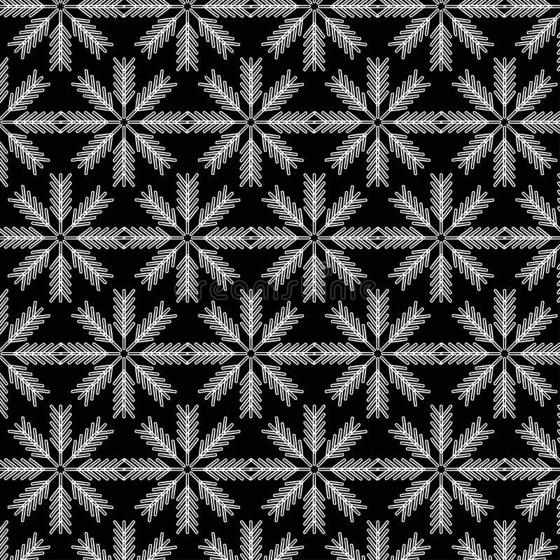 Снежинки pattern2 стоковые фото