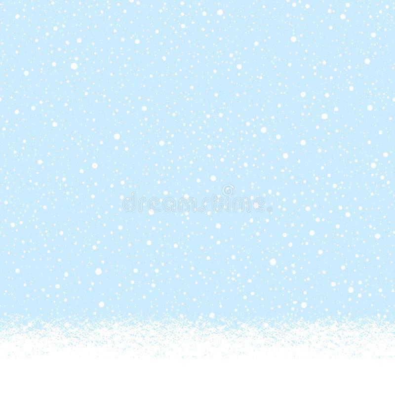 Снежно-снежный, снежно-снежный фон бесплатная иллюстрация