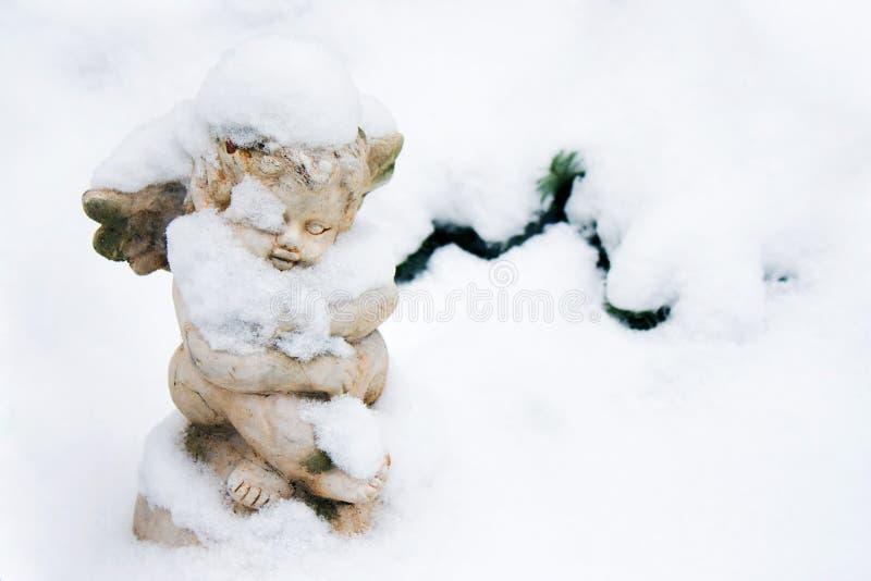 снежок ангела стоковая фотография