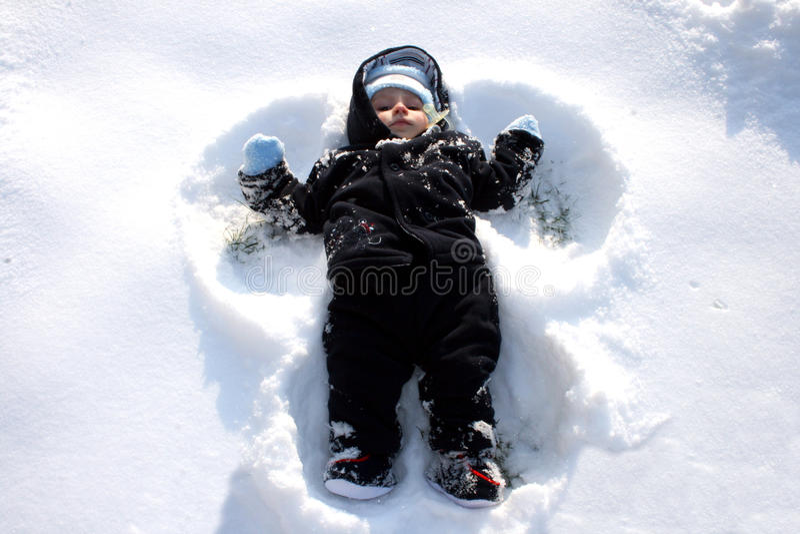 снежок ангела стоковые изображения