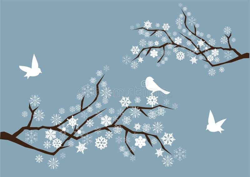 снежок ветвей