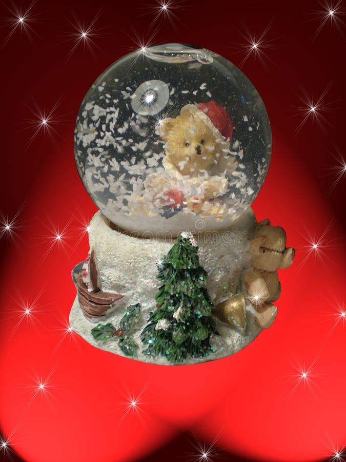 снежок глобуса стоковая фотография rf
