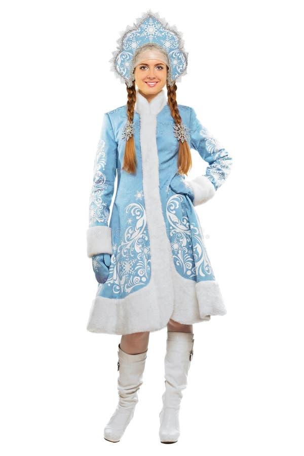 снежок девушки ся стоковые изображения rf
