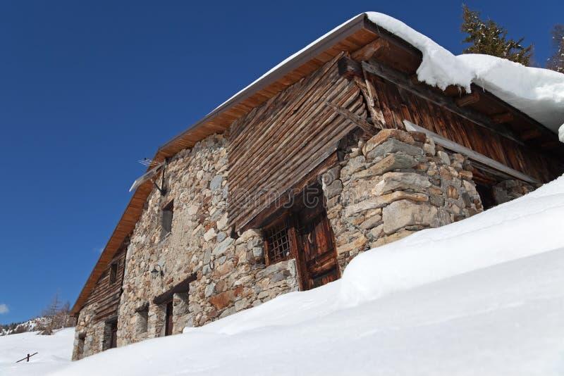 снежок кабины стоковое изображение