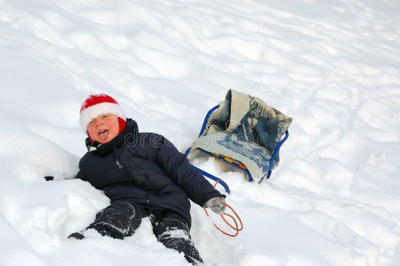 снежок малыша стоковая фотография rf