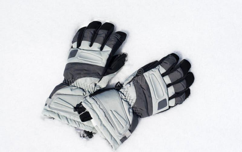 снежок перчаток стоковое изображение
