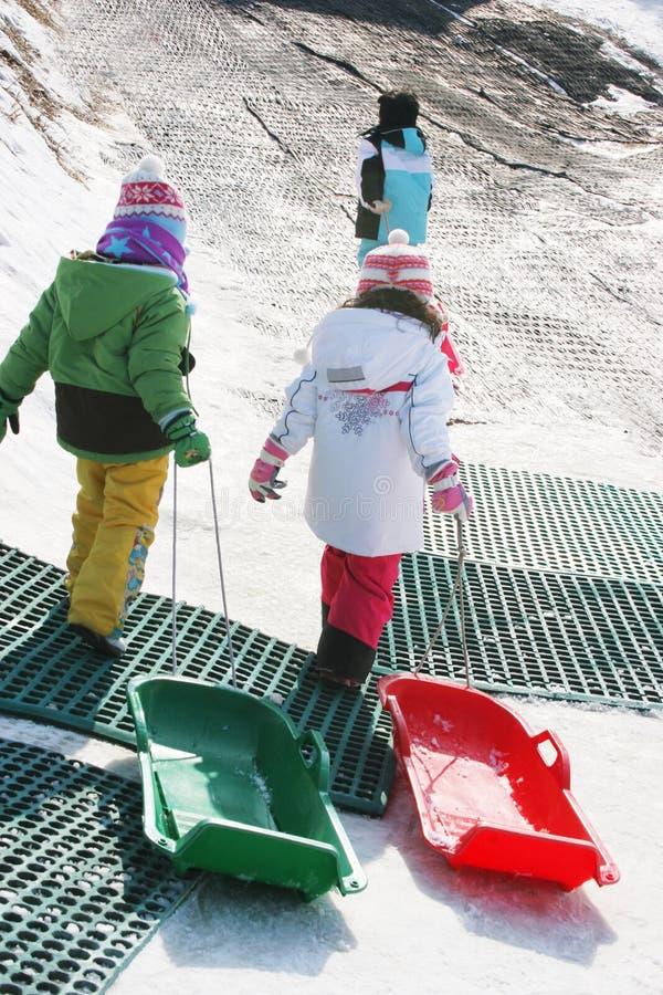 снежок потехи стоковая фотография rf