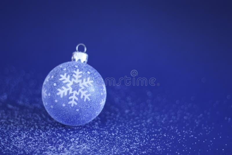 снежок рождества bauble стоковая фотография rf