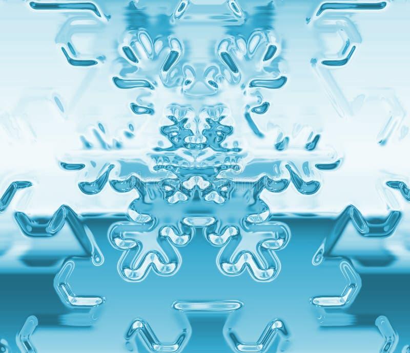 снежок хлопь иллюстрация штока