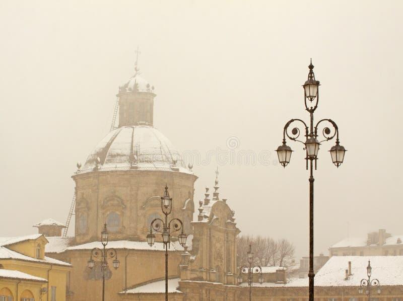 снежок церков стоковое изображение rf