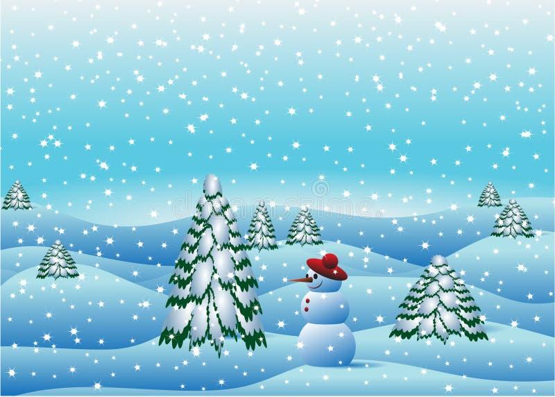 снежок иллюстрация штока