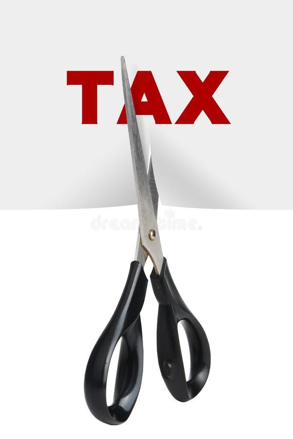 Снижение налога стоковая фотография rf