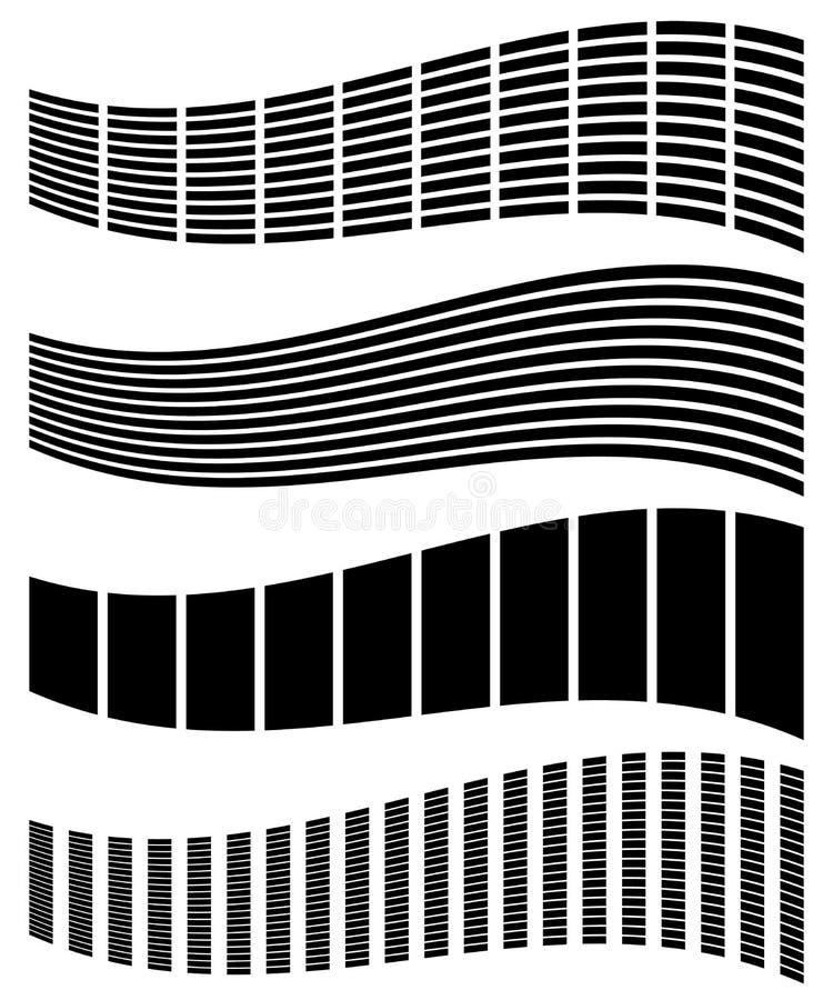 Download Снованные, передернутые прямоугольники, вертикаль, горизонтальные прямые Комплект Иллюстрация вектора - иллюстрации насчитывающей погнутость, колонки: 81806659