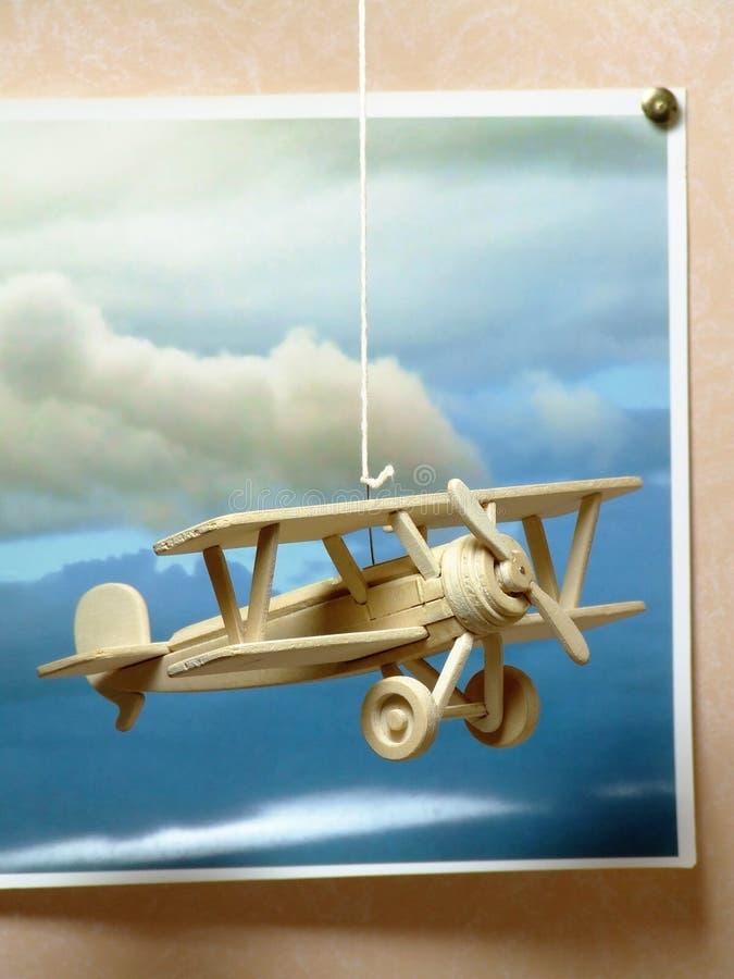 сновидения летая детеныши стоковое фото