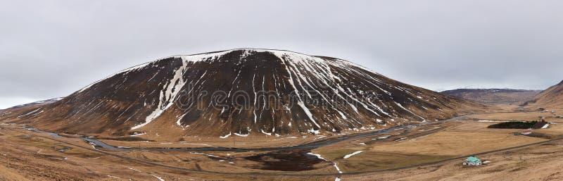 Сногсшибательный красивый ландшафт горы стоковая фотография rf