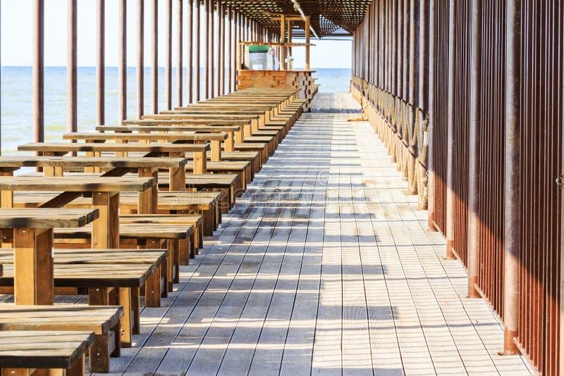 Снэк-бар на пляже стоковое фото
