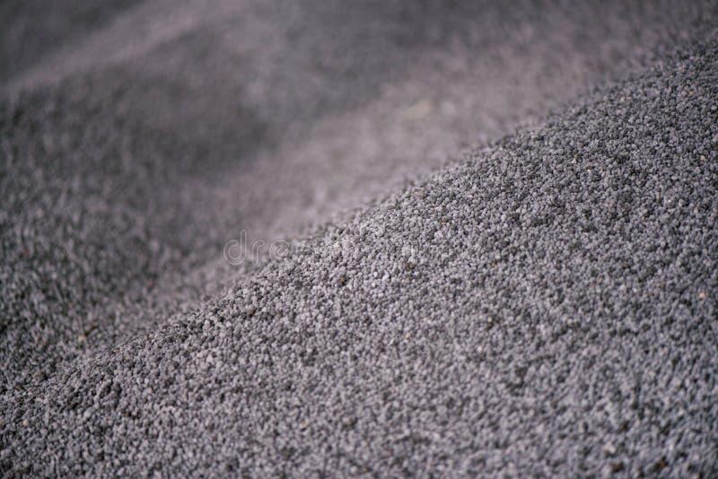 Снятый смешанного химиката, искусственные зерна удобрения завода азота в фабрике стоковое фото rf