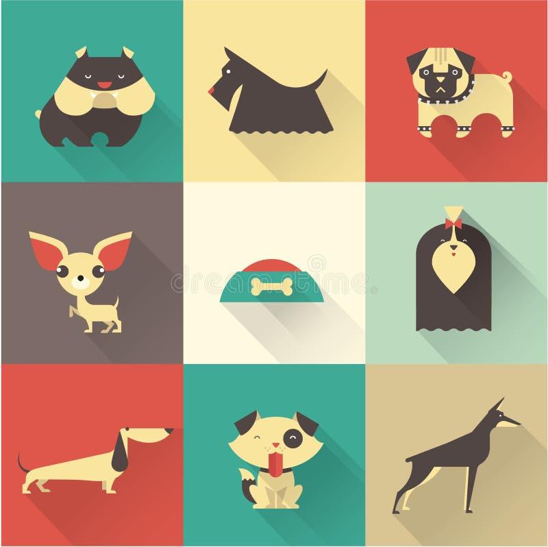 Собака вектора иллюстрация вектора